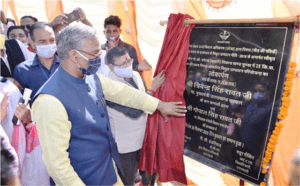 Chief Minister Rawat inaugurated power generation project from state's first Pirul