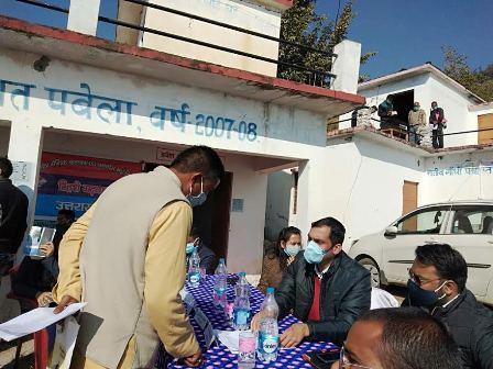 QRT Camp organized at Village Pabela (Pujargaon) Devprayag