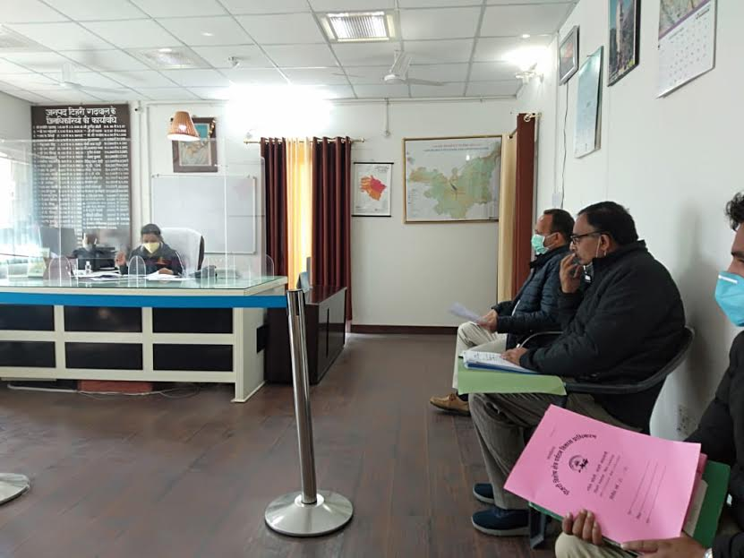 DM interacted with officials to promote tourism activities under Tehri lake area