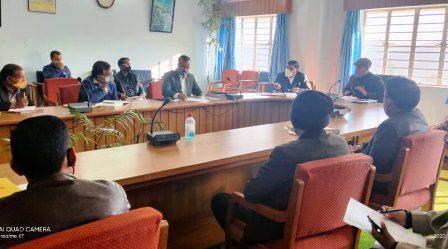 कोविड -19 को लेकर जिला मोनिटिरिंग कमेटी की बैठक आयोजित