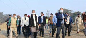 Chief Minister inspected the Lal Tappad flyover