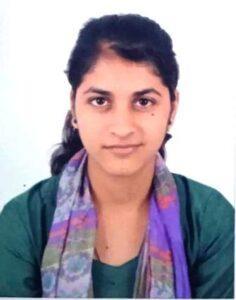 Geeta Dhanola selected for Assam Rifle