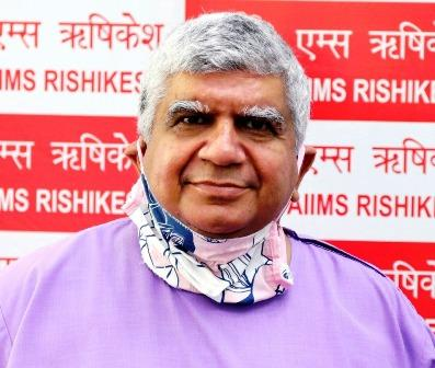 अखिल भारतीय आयुर्विज्ञान संस्थान(एम्स) ऋषिकेश के निदेशक पद्मश्री प्रोफेसर रवि कांत