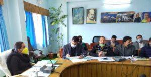 डीएम इवा श्रीवास्तव की अध्यक्षता में जिला योजना की समीक्षा बैठक सम्पन्न