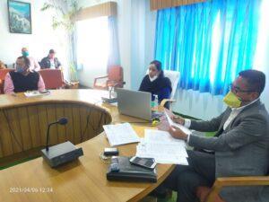 वनाग्नि की बढ़ती घटनाओं के दृष्टिगत डीएम ने पुलिस व राजस्व विभाग के अधिकारियों को दिए कड़ी कार्यवाही के निर्देश