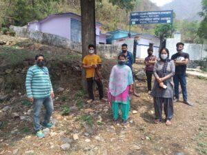 Awareness drive in Vill Gaindi Tehsil NNR
