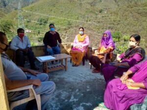 तहसील कीर्तिनगर के अंतर्गत ग्राम निगरानी समितियों की बैठकों का दौर