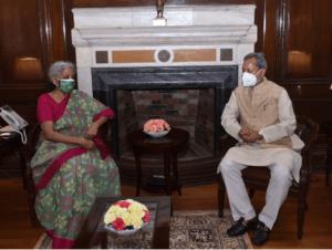 केन्द्रीय वित्त मंत्री श्रीमती सीतारमण से जीएसटी कम्पनसेशन की अवधि को जून 2022 से आगे और पांच वर्ष बढाने का अनुरोध