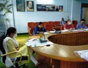 नियोजन उप समिति की बैठक एक सप्ताह के भीतर अनिवार्य रूप से कर ली जाए: डीएम