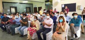 स्वास्थ्य मंत्री डा. रावत ने इस अवसर पर विभाग के तहत 22 मृतक आश्रितों को नियुक्ति पत्र वितरित कर उन्हें सरकारी सेवा में आने पर बधाई दी।