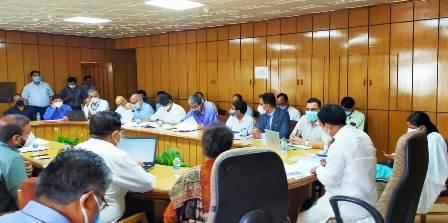 मंत्री डॉ. धन सिंह रावत ने तय की मेडिकल कॉलेजों में निर्माण कार्यों की डेडलाइन, सभी निर्माण कार्य 30 अक्टूबर तक पूर्ण करने के दिये निर्देश