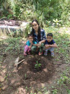 हरेला लोक पर्वोत्सव पर छोटे बच्चों ने वृक्ष रोपित कर दिया पर्यावरण संरक्षण का संदेश