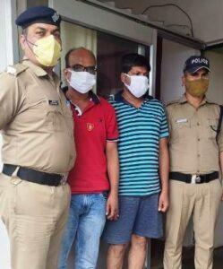 फर्जी व्हट्सएप्प ग्रुप के जरिये लाखों की ठगी करने वाले दो अभियुक्तों को टिहरी पुलिस ने मेरठ से किया गिरफ्तार