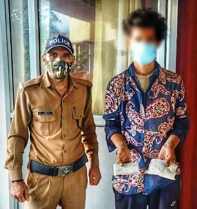 तीस हजार कीमत की अवैध स्मैक के साथ थान चम्बा का एक युवक गिरफ्तार