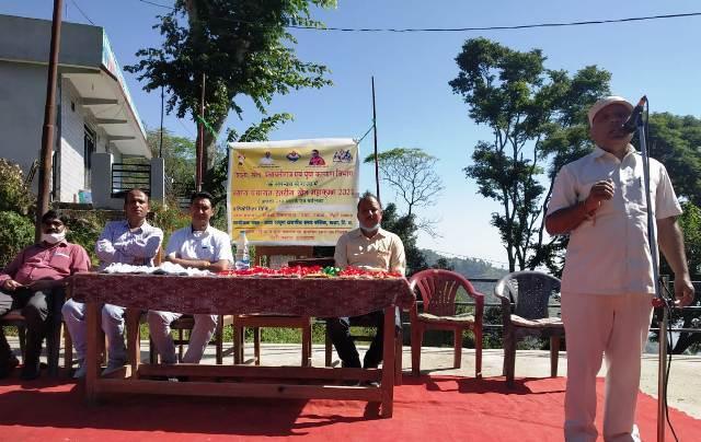 अटल उत्कृष्ट राजकीय इंटर कॉलेज गजा में अंडर 14 बालक एवं बालिका खेल महाकुंभ आयोजित